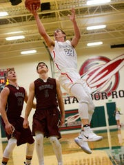 Oak Harbor's Aric McAtee had 12 points against Genoa.