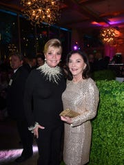 Platinum sponsor and PSIFF board member Jan Salta and Linda Sue Croul at the After Party at the Parker Hotel.