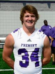 Fremont Ross senior Caleb Wood is a linebacker on the News-Messenger/News Herald team.