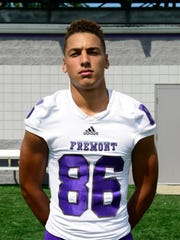 Fremont Ross senior Bryce McKinstry is a receiver on the News-Messenger/News Herald team.