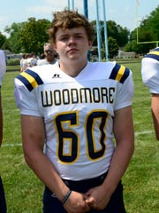 Woodmore's Seth Drossel started on both sides of the ball last season.