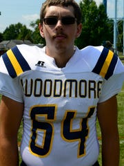 Woodmore's Michael Lindhorst is a returning two-way starter.