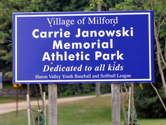 MTO 08 Milford Carrie Janowski Memorial Athletic Park