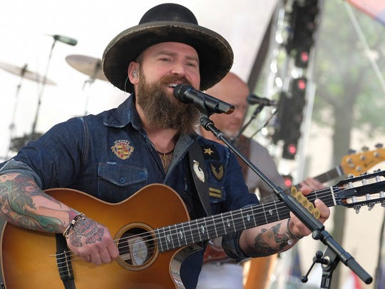 Zac Brown Band plays the Iowa State Fair Grandstand on Aug. 11, 2019.