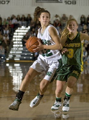 Colts Neck's Brooke Hampton scored 1,670 points and the Cougars went  101-17 over her four seasons.