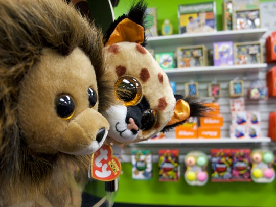 The shop at the i.d.e.a. Museum in Mesa includes stuffed