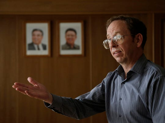 American Jeffrey Fowle in N. Korea