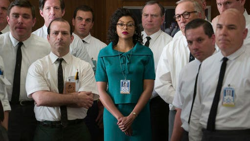 "Taraji P. Henson stars as Katherine Johnson, center, in a scene from ""Hidden Figures."""