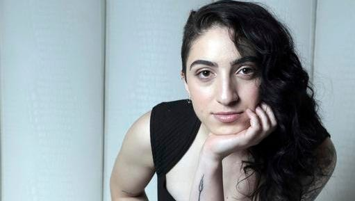 "This photo taken Jan. 20, 2017, shows Emily Estefan in Miami. Estefan, the daughter of Gloria and Emilio Estefan released her debut album,"" ""Take Whatever You Want,"" on Feb. 3."