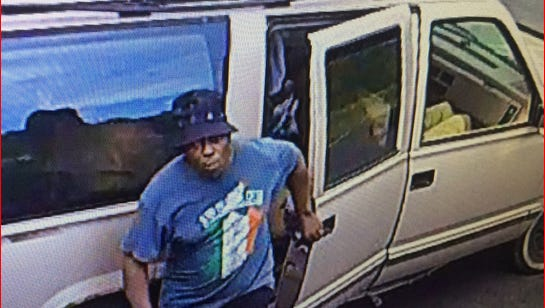 This man is one of three Menomonee Falls Police say took tools from a work truck in Menomonee Falls.