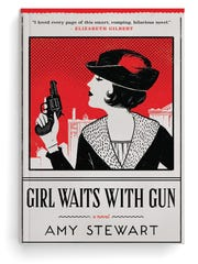 "Amy Stewart's, ""Girl Waits With Gun"" was the first book in the Kopp sisters' series."