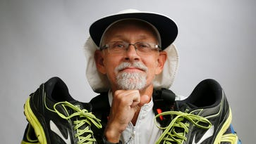 Running for his life: Diabetic who got off couch eyes 3,000-mile run before 60th birthday