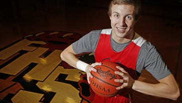 Luke Kennard will throw out a first pitch at Great American Ball Park.