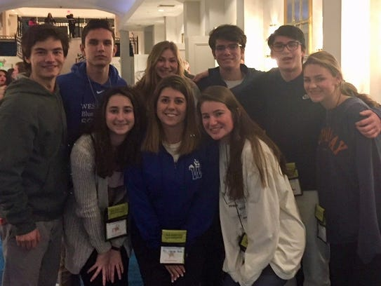 Eleventh grade members of Westfield High School's DREAM