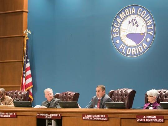 The Escambia County Commission revoked Humanist celebrant