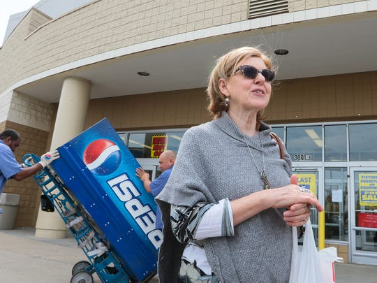 Diana James of Williamston says she has always been a big fan of Kmart ever since it opened on Main Street in 1969.