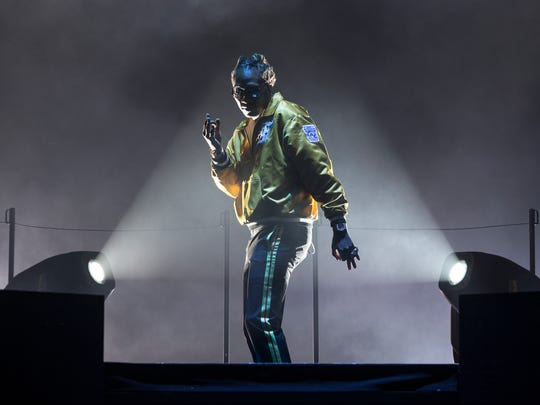 Future performs in the Nobody's Safe Tour at the  PNC Bank Arts Center in Holmdel on Thursday, May 18.