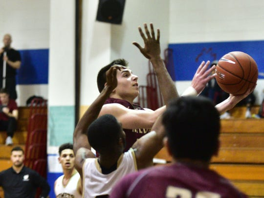 Wayne Hills' Joey Belli (21) controls the ball as a