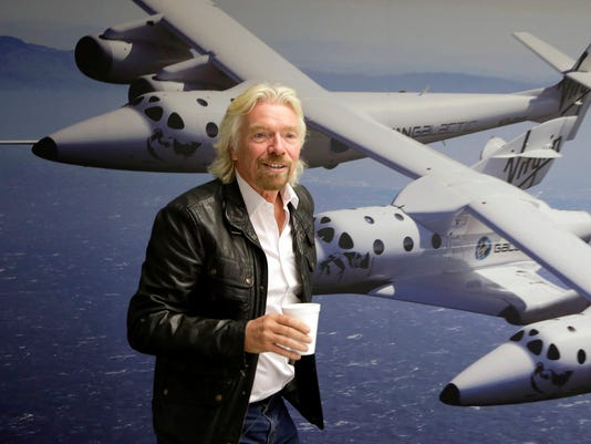 AP SPACESHIPTWO-BRANSON A FILE USA CA
