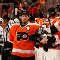 Kimmo Timonen played 519 of his 1,092 games for the Flyers.