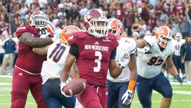 Can Larry Rose III and the New Mexico State offense carry the load for the Aggies in the second half of the season?