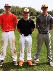 Northville returns (from left) Kevin Morrissey, a junior, and seniors Zach Prystash and Chris Dunn.