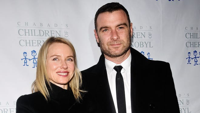 Naomi Watts and Liev Schreiber attend the 2013 Children At Heart gala dinner and celebrity fantasy auction at Pier Sixty at Chelsea Piers on November 25, 2013.