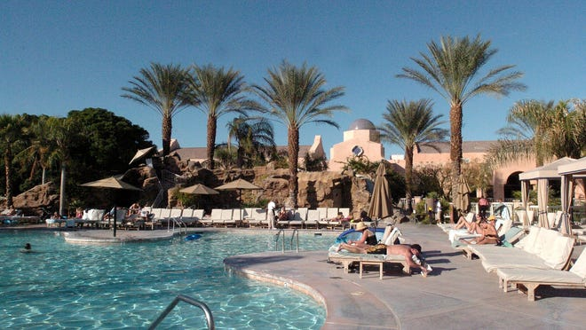 Westin Mission Hills in Rancho Mirage is seen in a 2005 file photo.
