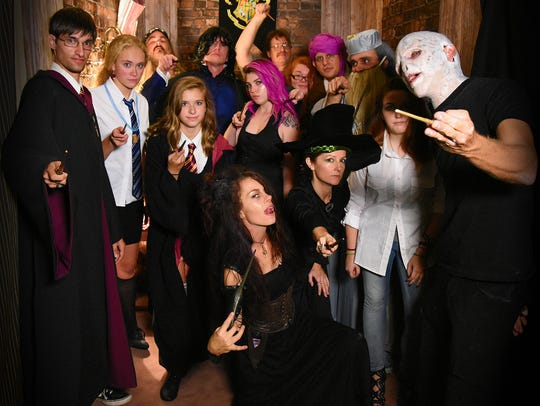 Harry Potter, Voldemort and more costumed characters will return to Cape Coral's Hogwarts on Del Prado.