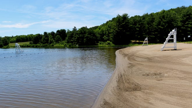 The waterfront at Park Station county park in Erin will open to the public Saturday.