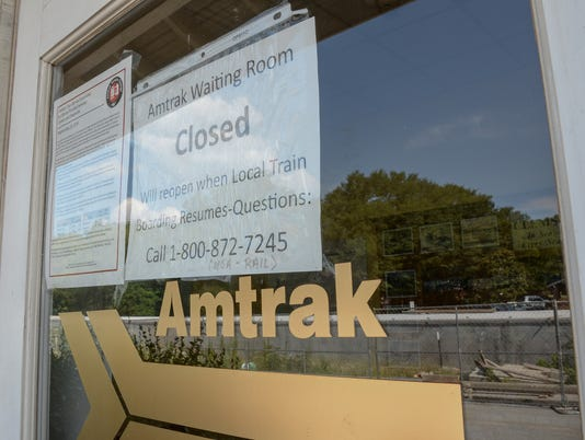 Amtrack station closed in Clemson