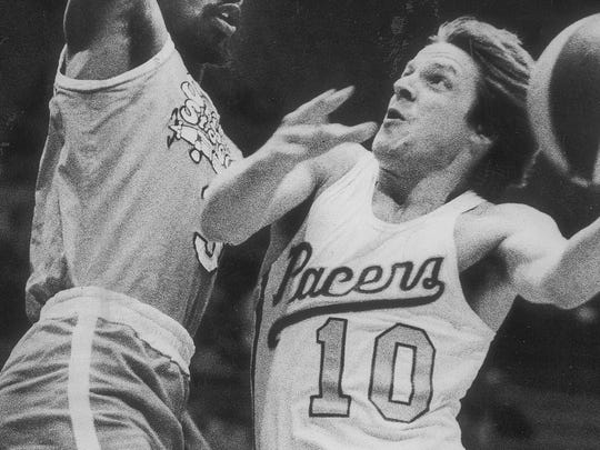 No. 23: Don Buse played for the Pacers in two stints: