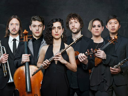 Members of the yMusic ensemble have worked with diverse