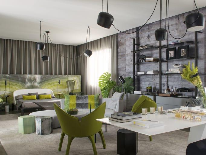 Miami designer Sam Robin breathed life into a gray