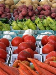 Fresh produce will be available at the Downtown Appleton