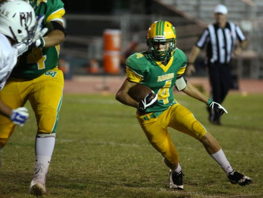 Coachella Valley and Rancho Mirage football action