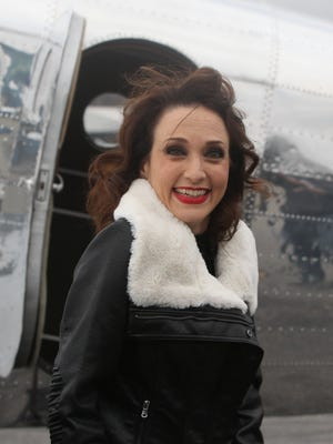 Bebe Neuwirth, original cast member of Chicago the Musical, during a photo shoot at Westchester County Airport Nov. 18, 2015. They were shooting promotional photos celebrating the 20th year of the show.
