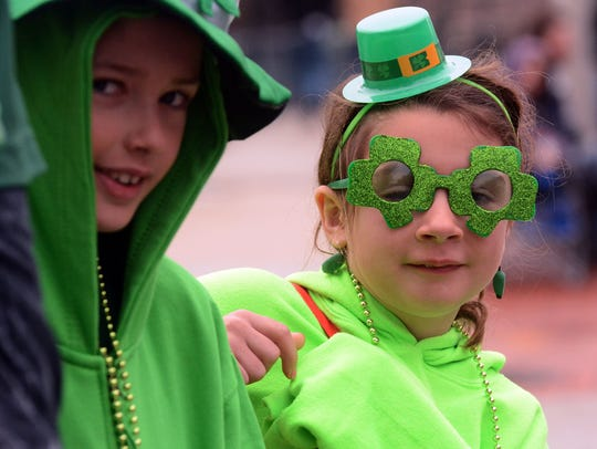 York's St. Patrick's Day parade went off Saturday between