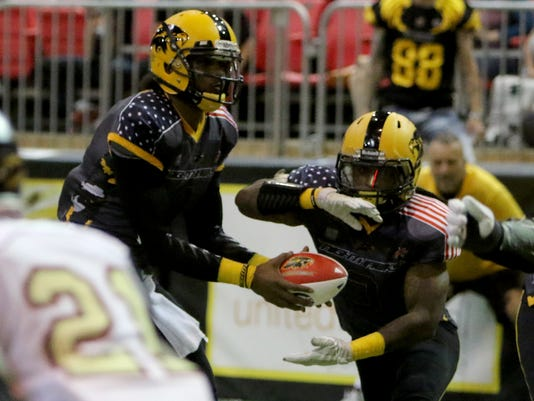 Nighthawks vs Iowa Barnstormers