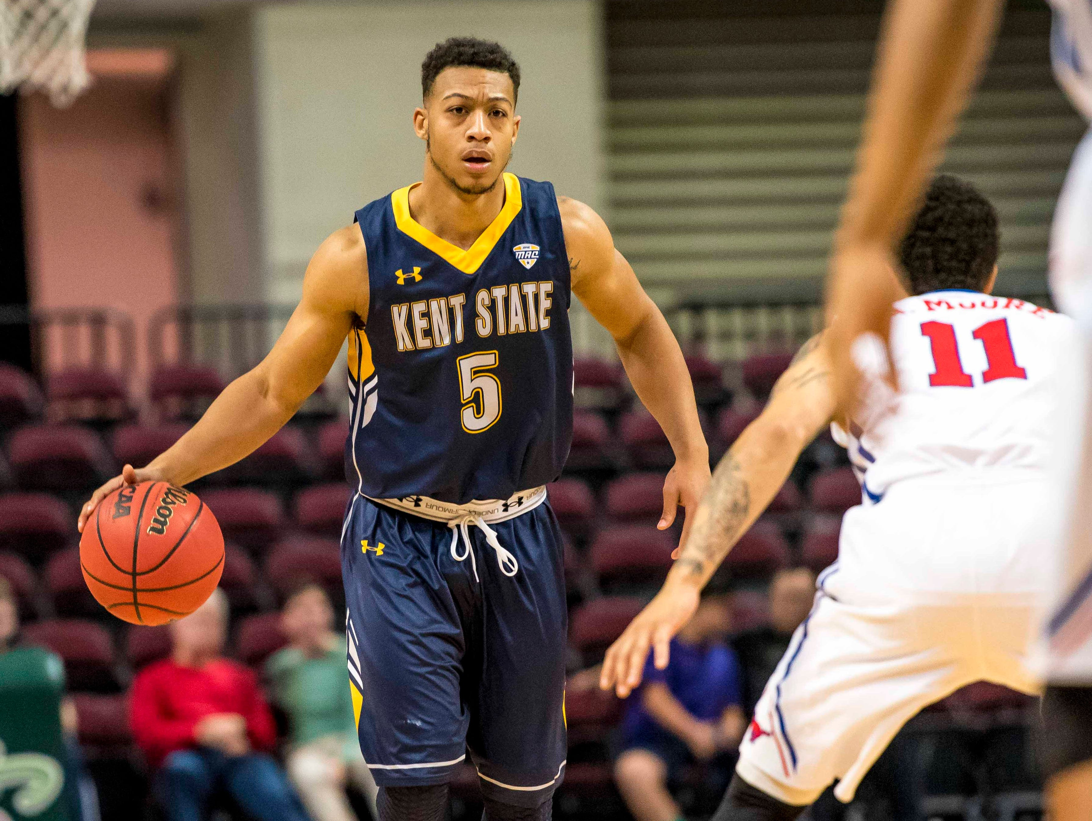 Kellon Thomas will transfer from Kent State for his final year of eligibility.