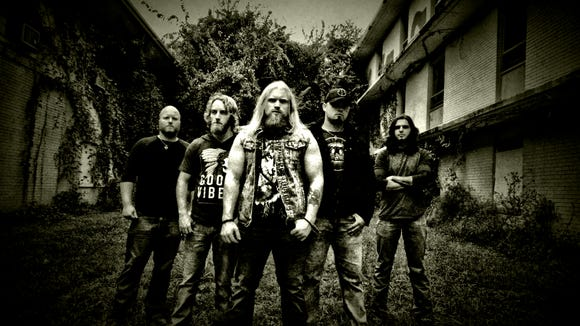 Texas hard-rockers Blacktop Mojo will perform on Friday at Tricky Falls.