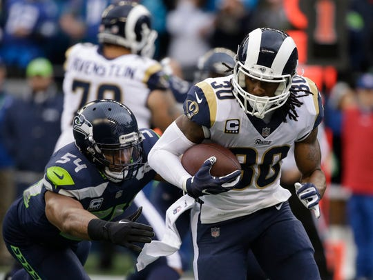 Linebacker Bobby Wagner and the Seahawks couldn't slow down Rams running back Todd Gurley on Sunday ... but at least Wagner wasn't any more injured after the game than he was before it. Now Wagner and the Seahawks have to face another stud running back, Ezekiel Elliott of the Cowboys.