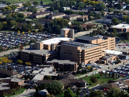 File/USA TODAY NETWORK-Wisconsin An aerial photo of St. Agnes Hospital in Fond du Lac, operated by Agnesian HealthCare.