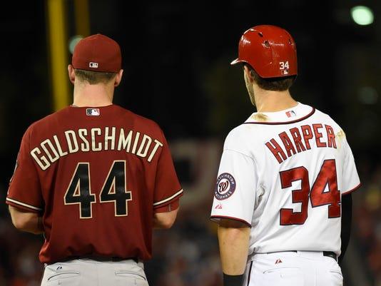 MLB: Arizona Diamondbacks at Washington Nationals