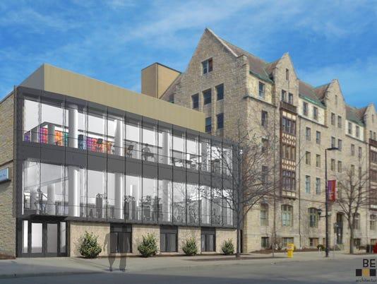 Downtown YMCA exterior - MAIN ART