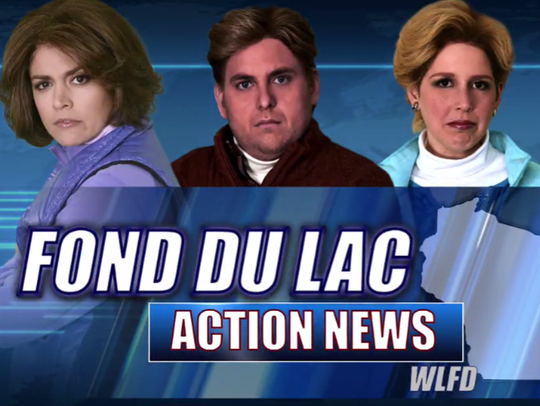 "SNL's latest skit, ""Fond Du Lac Action News,"" parodies"