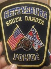 Emblem for the Gettysburg Police Department.