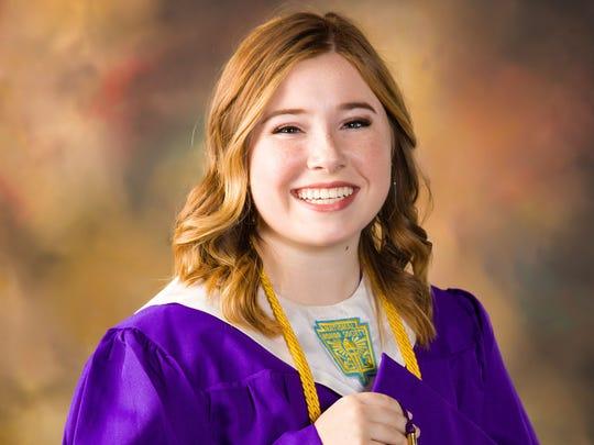 Valedictorian Brenna Hale