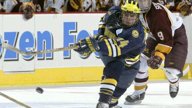 Former University of Michigan player Brandon Kaleniecki is returning to his alma mater, Novi Detroit Catholic Central, as hockey head coach.