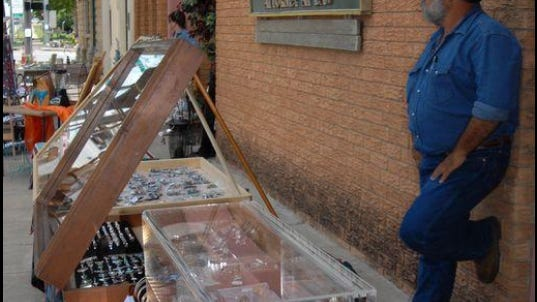 Vendors set up on the sidewalks and merchants are open downtown in Ballinger during the annual Sidewalk Showcase. This year the event will be held on Saturday, June 27 from 9 a.m. until 4 p.m.